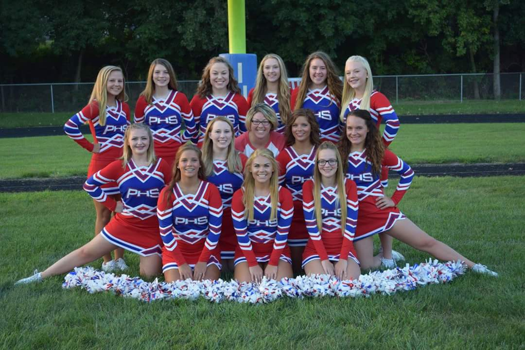 Pawnee CUSD 11 - High School Cheerleading